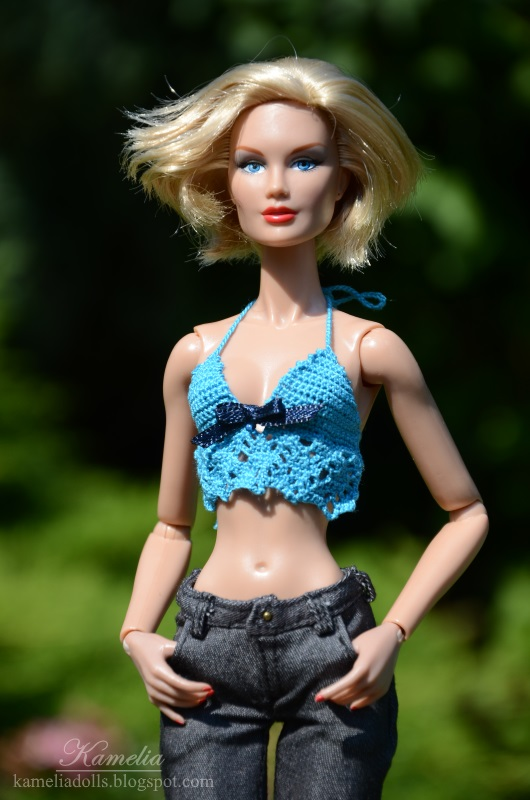 Jeans for Color Infusion Darby Kenner doll