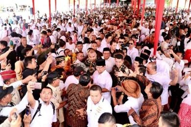 Orasi Prabowo Ini Bikin Bumi Banyumas Bergetar