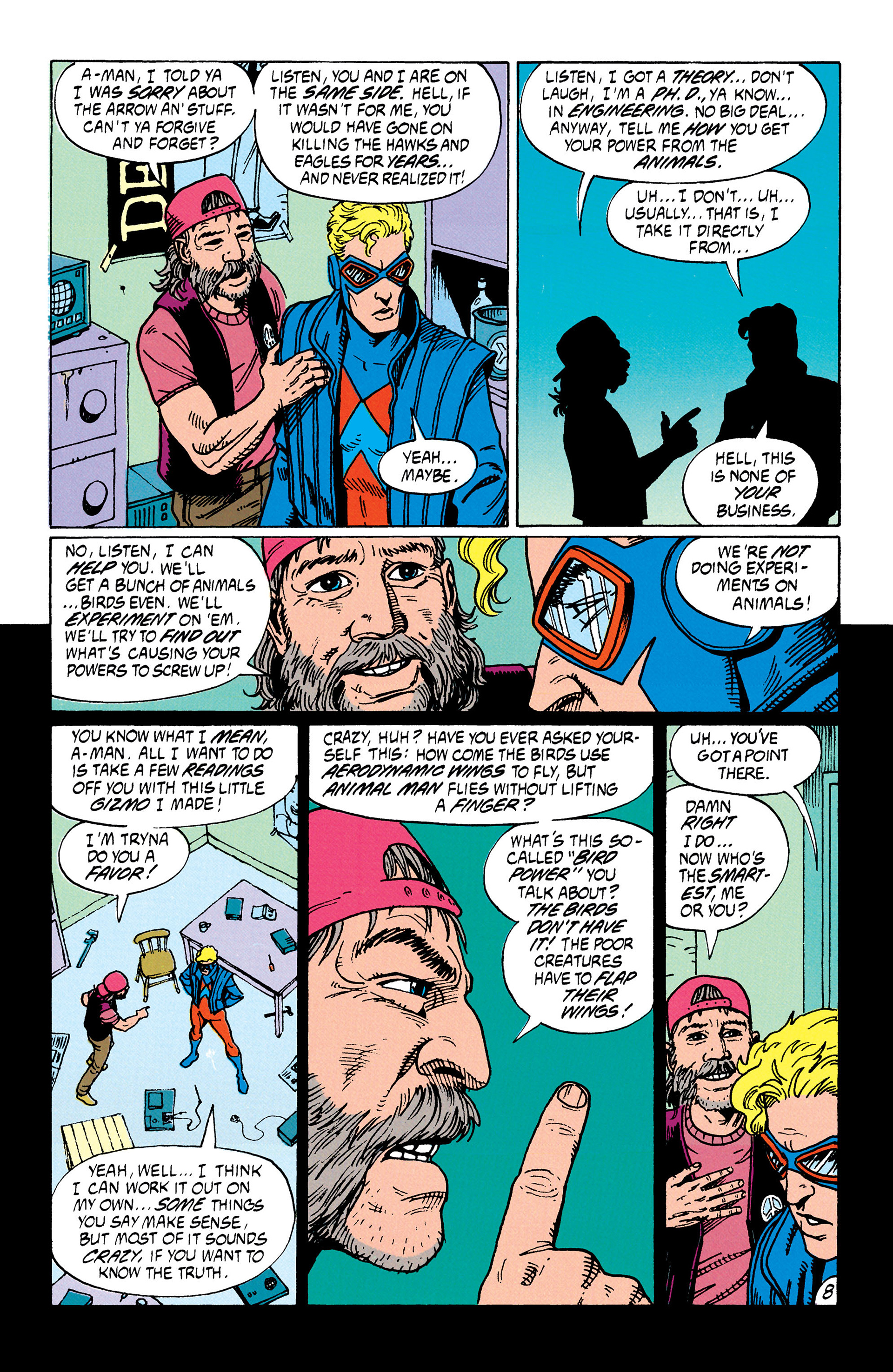Read online Animal Man (1988) comic -  Issue #35 - 9
