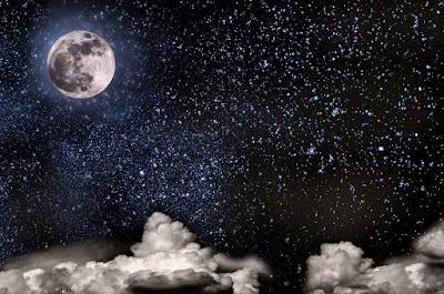 yıldızlar ve ay
