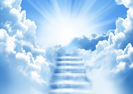 UN ANGEL MAS EN EL CIELO...........Hasta pronto.... Escalera-al-cielo