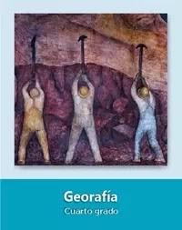 Libro de texto  Geografía Cuarto grado 2019-2020
