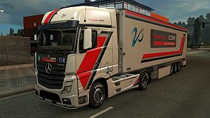 Virtual Com mod pack for Mercedes MP4