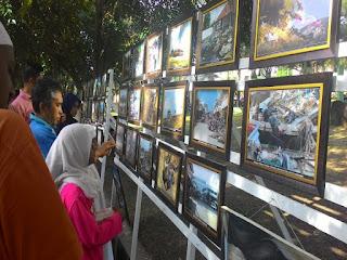 turut di pamerkan foto-foto pasca tragedi tsunami aceh yang menjadi bukti kedahsyatan bencana tersebut