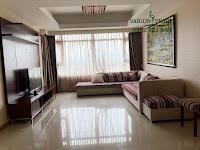 Cho thuê Ruby 1 Saigon Pearl 150m2 tầng 21 | Sofa tại phòng khách