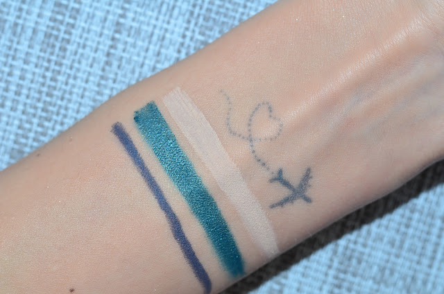 Clarins Ombre   Satin  green mile Clarins Ombre Velvet  white shadow  Карандаш  Clarins Waterproof Eye Pencil  smoked wood