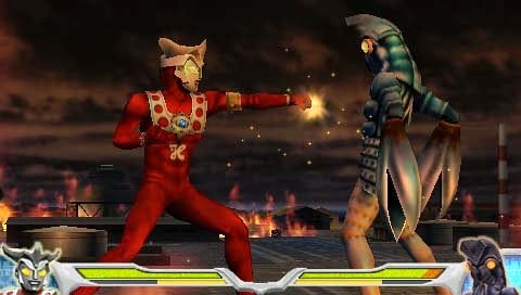 Ultraman Fighting Evolution 0 Download Game Psp Ppsspp Psvita Free