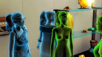 sims 4 ghost of sauna