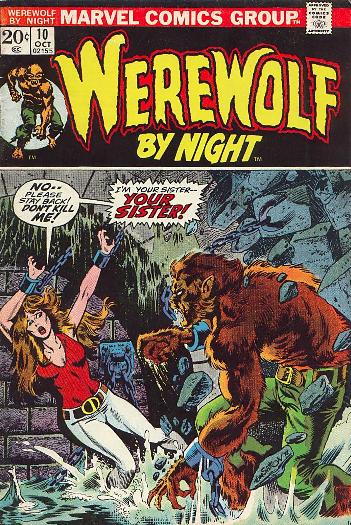 Werewolf by Night (1972) issue 10 - Page 1