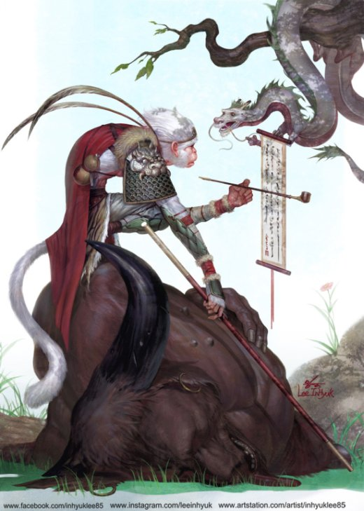 InHyuk Lee artstation arte ilustrações quadrinhos games animes mangás fantasia ficção