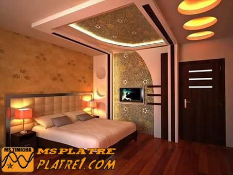 faux plafond pour chambre a coucher platre. Black Bedroom Furniture Sets. Home Design Ideas