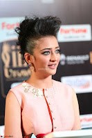 Akshara Haasan in Peachy Crop Top Choli Skirt at IIFA Utsavam Awards 011.JPG