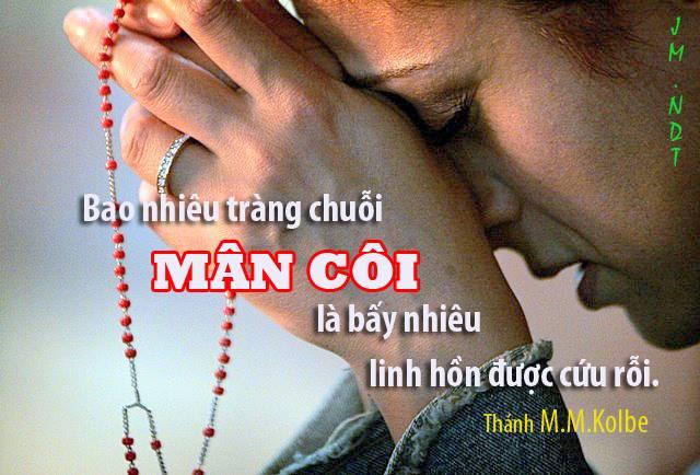 15 ơn lành mà Đức Mẹ hứa ban cho những ai siêng năng đọc Kinh Mân Côi