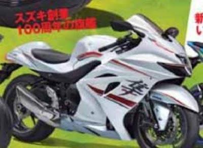 Render Suzuki Hayabusa Terbaru