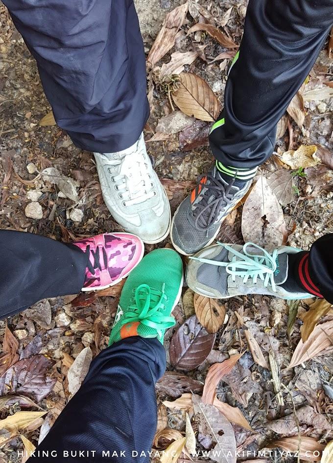 Hiking Ke Bukit Mak Dayang Kemaman
