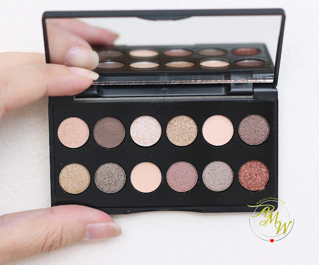 a photo of Sleek Makeup I-divine Mineral Based Eyeshadow Palette in All Night Long Review