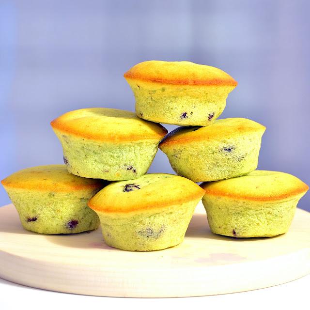 Pistachio Cranberry Muffins
