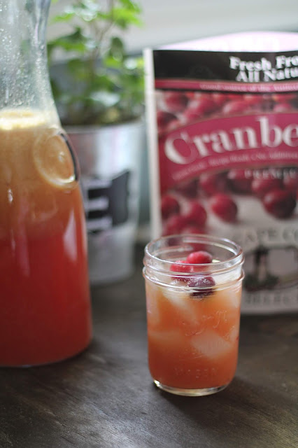 Cranberry Orange Lemonade with Cape Cod Select