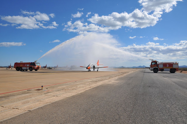250.000 horas del C-101 volando para la Academia General del Aire