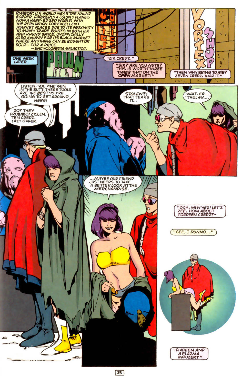 Legion of Super-Heroes (1989) 54 Page 23