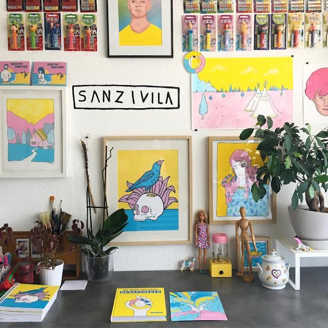Sanz I Villa, Ilustrador que hace maravillas con 3 colores - 14