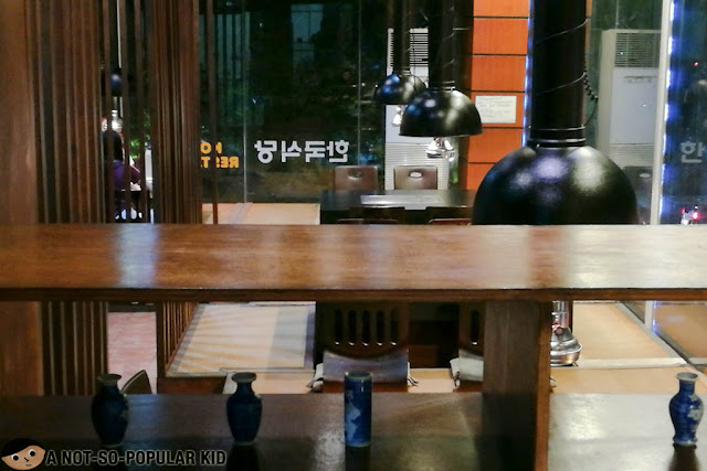 Interior of Gangnam Style