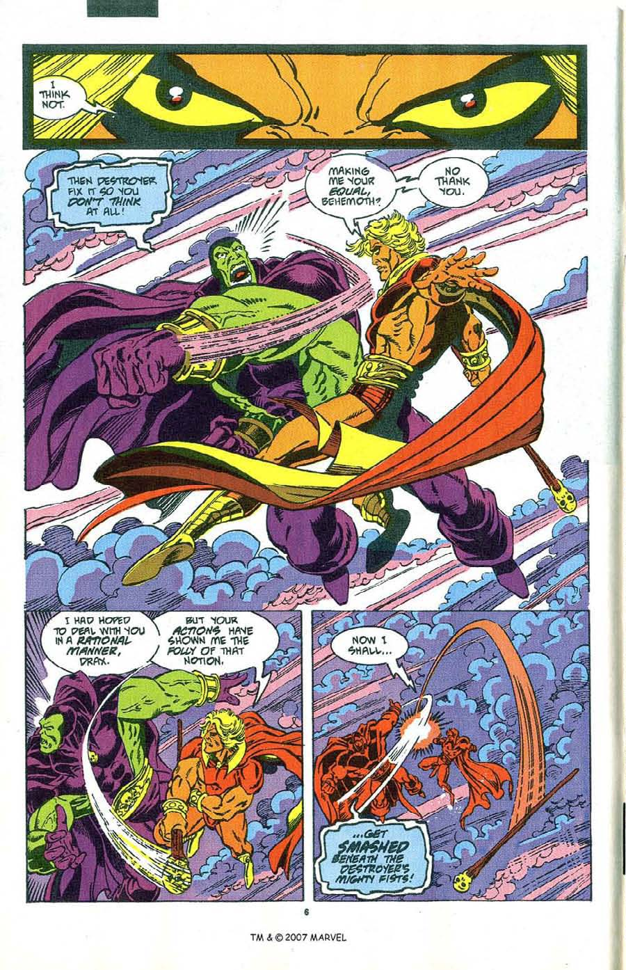 Read online Silver Surfer (1987) comic -  Issue #47 - 8