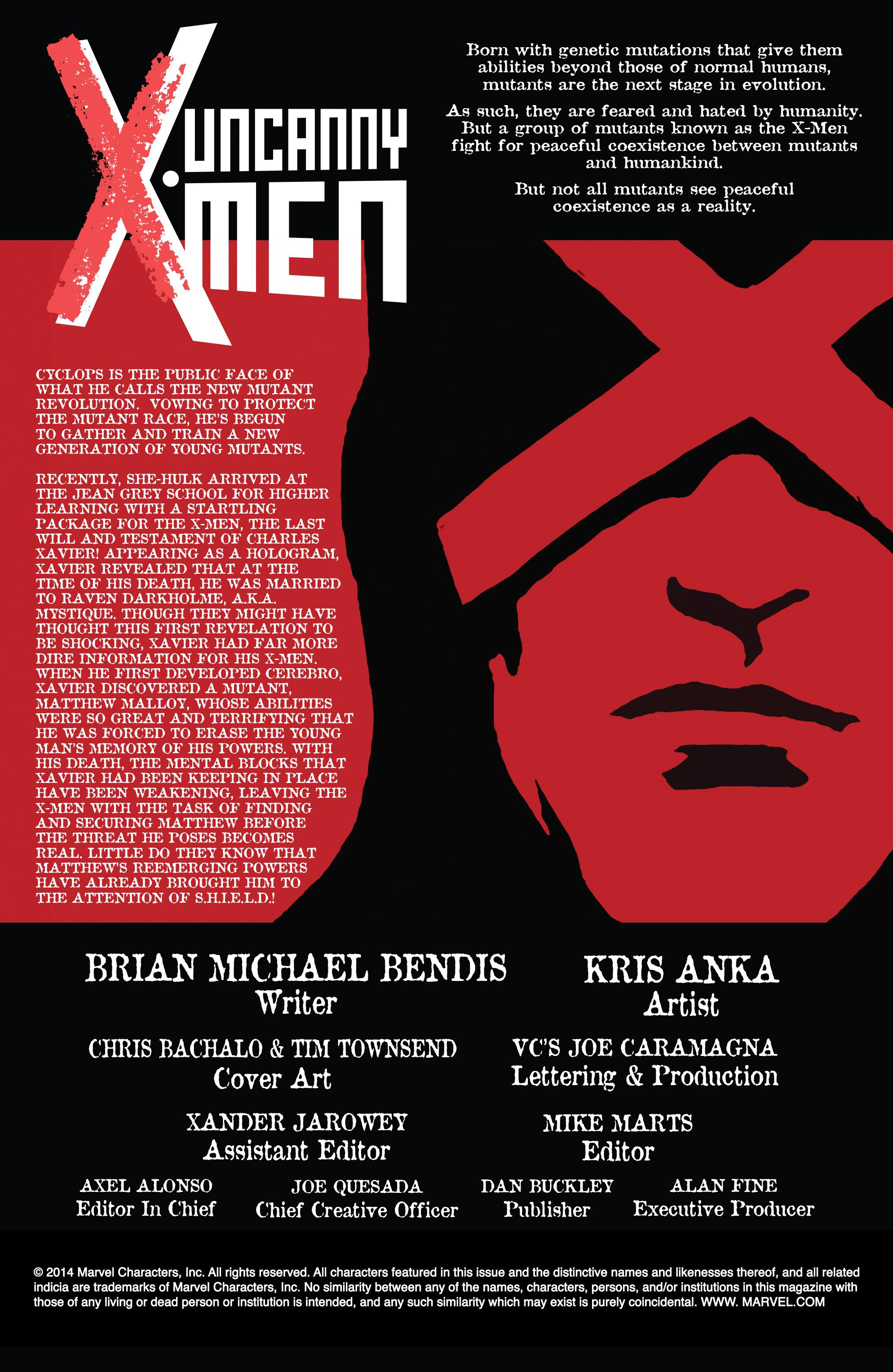 Read online Uncanny X-Men (2013) comic -  Issue # _TPB 5 - The Omega Mutant - 4