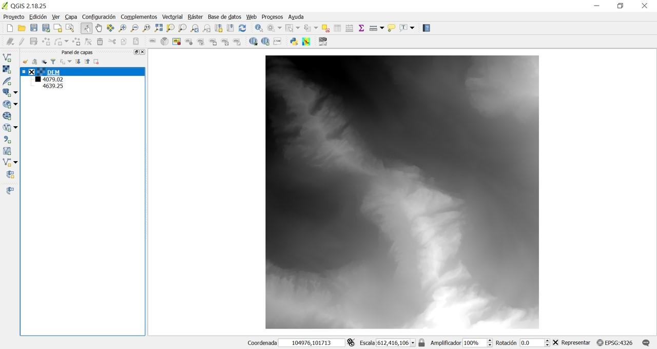 Blog SIG: Sombreado de laderas con QGIS Hillshade