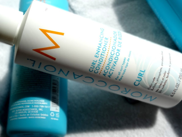 Moroccanoil Curl Enhancing Shampoo, Conditioner and Curl Cleansing Conditioner