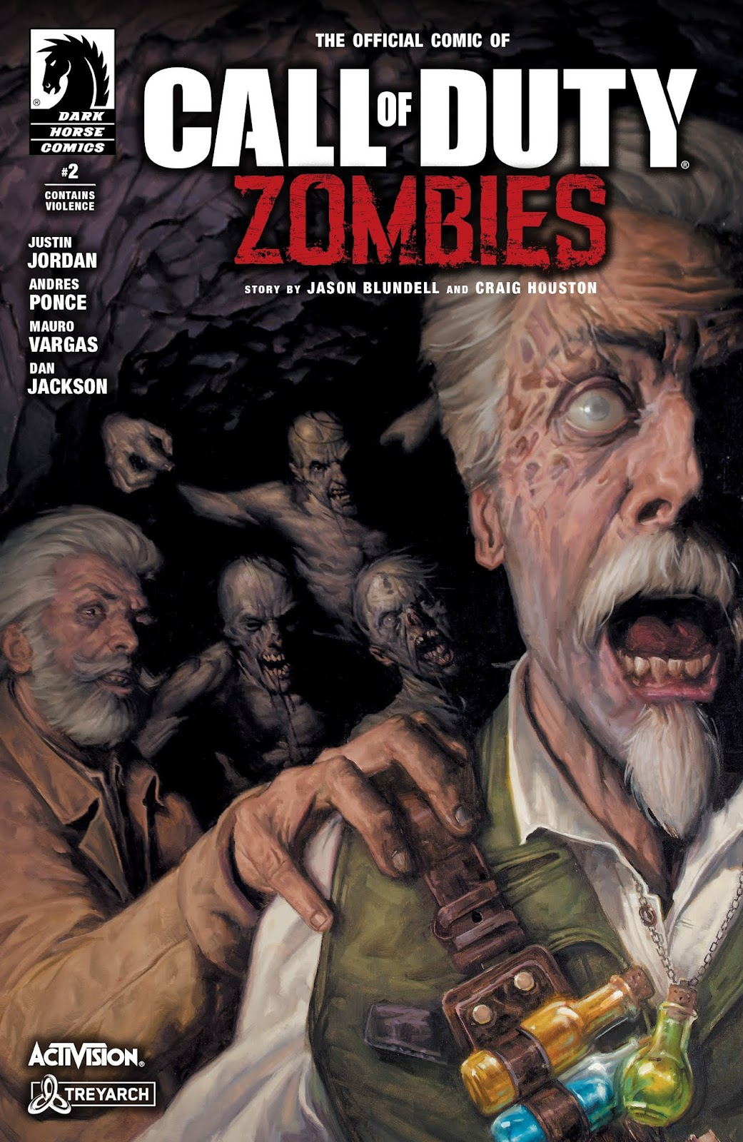 Call of Duty: Zombies 2 issue 2 - Page 1
