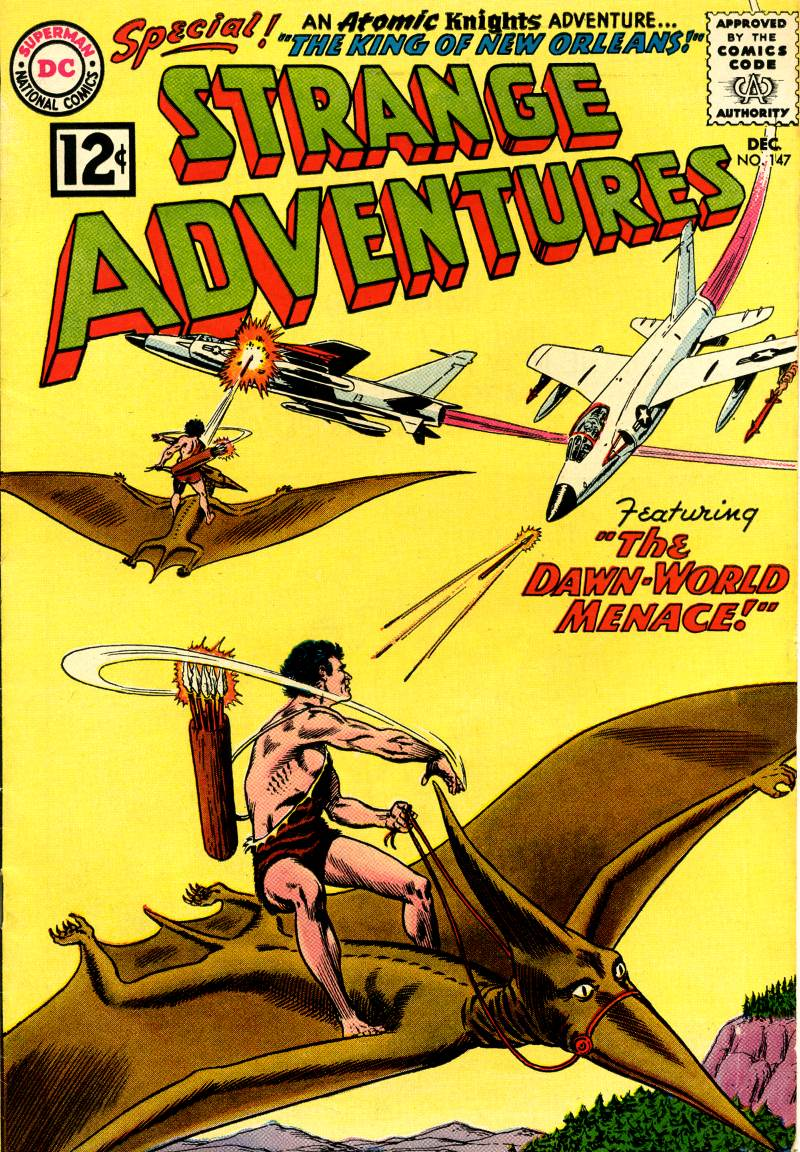 Strange Adventures (1950) issue 147 - Page 1