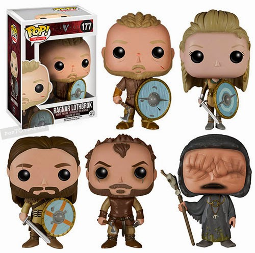 Pop Television Vikings From Funko