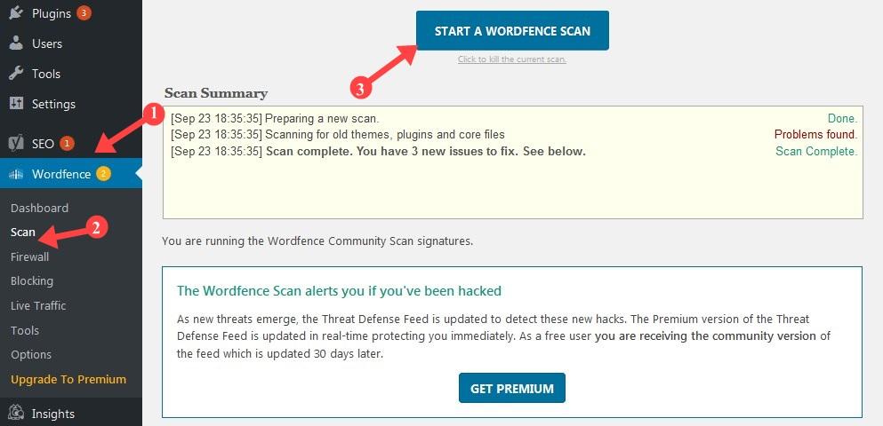 Wordpress Blog से  Virus Scan करके  Remove कैसे करे ?