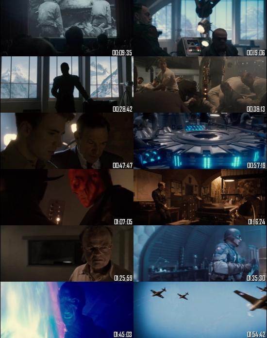 Captain America The First Avenger 2011 BRRip 720p 480p Dual Audio Hindi English Full Movie Download