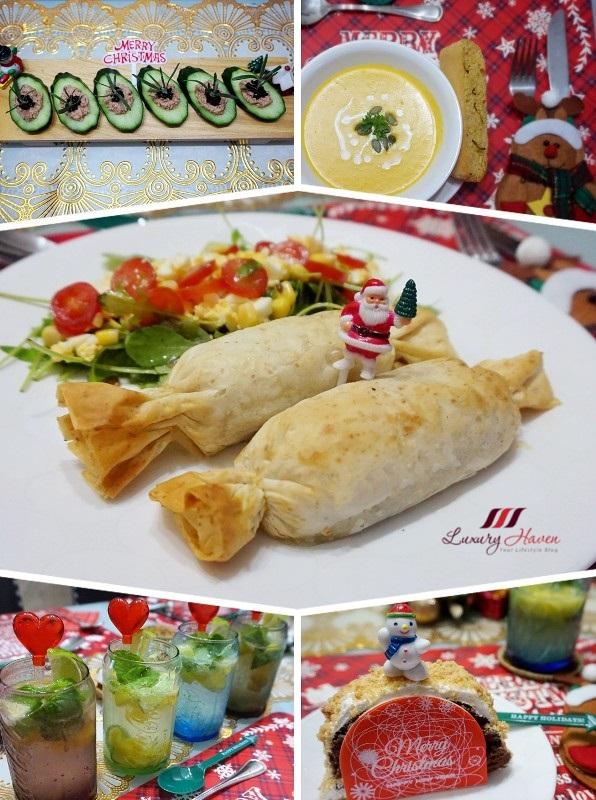 luxury haven lifestyle blog christmas dinner