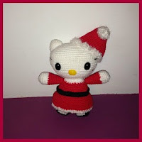 Hello Kitty mamá Noel