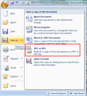 Cara Membuat Dokumen PDF