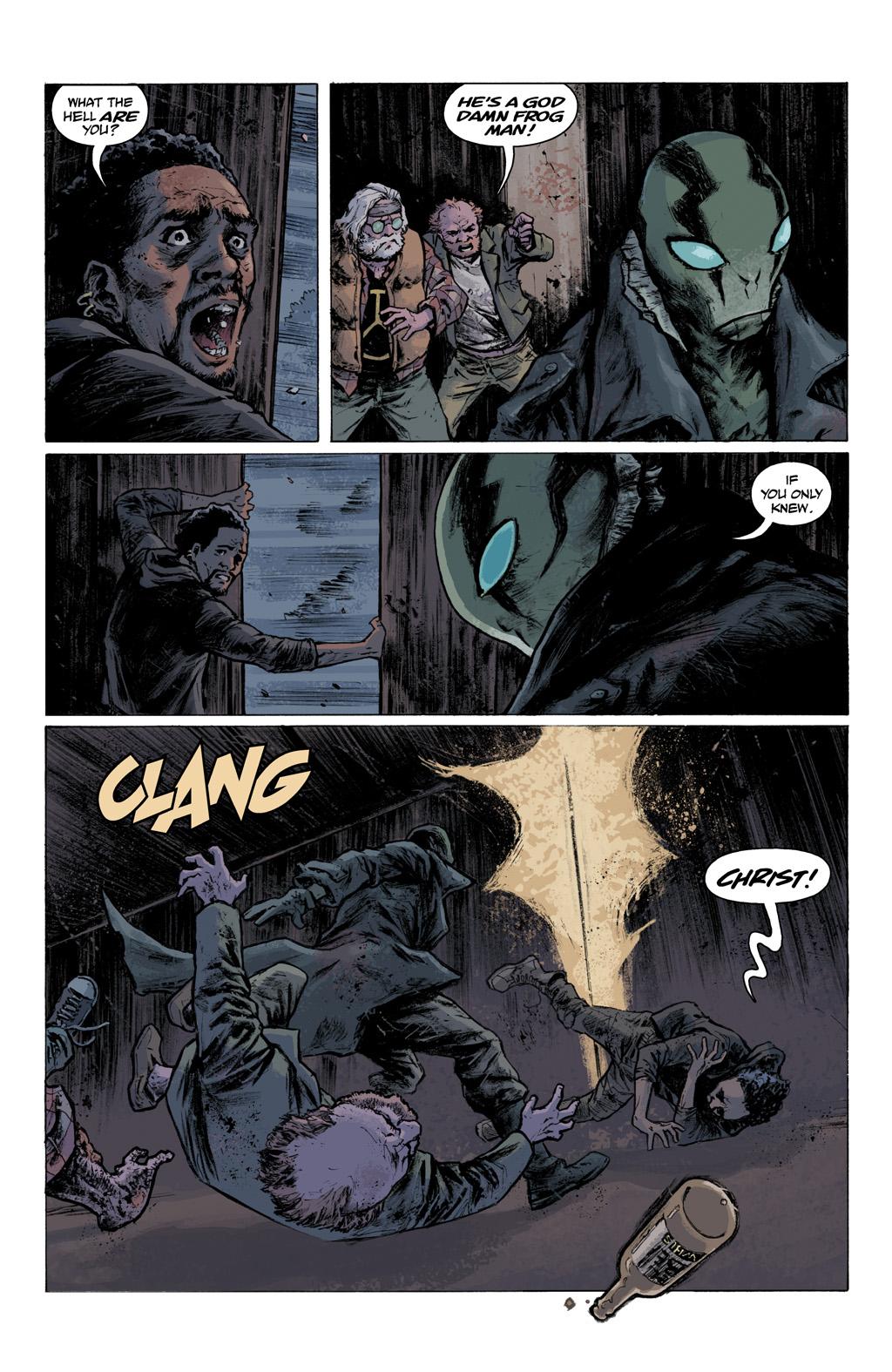 Read online Abe Sapien comic -  Issue #1 - 20