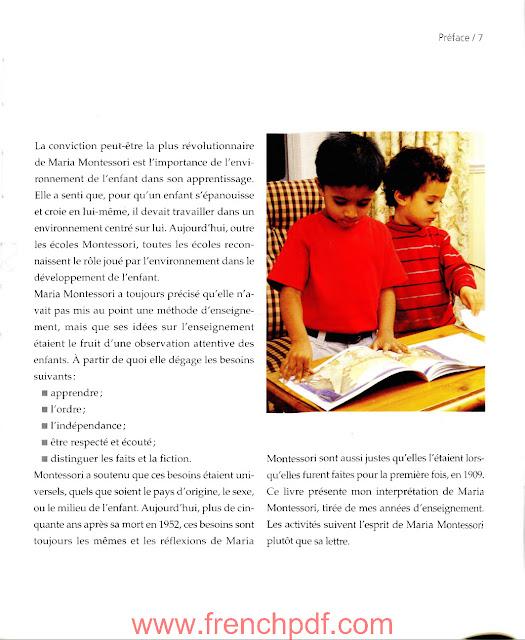 Jeux méthode Montessori : 3 ans et+ PDF Gratuit