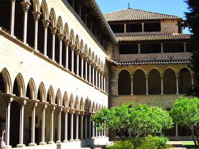 Gothic cloister of Pedralbes Monastery
