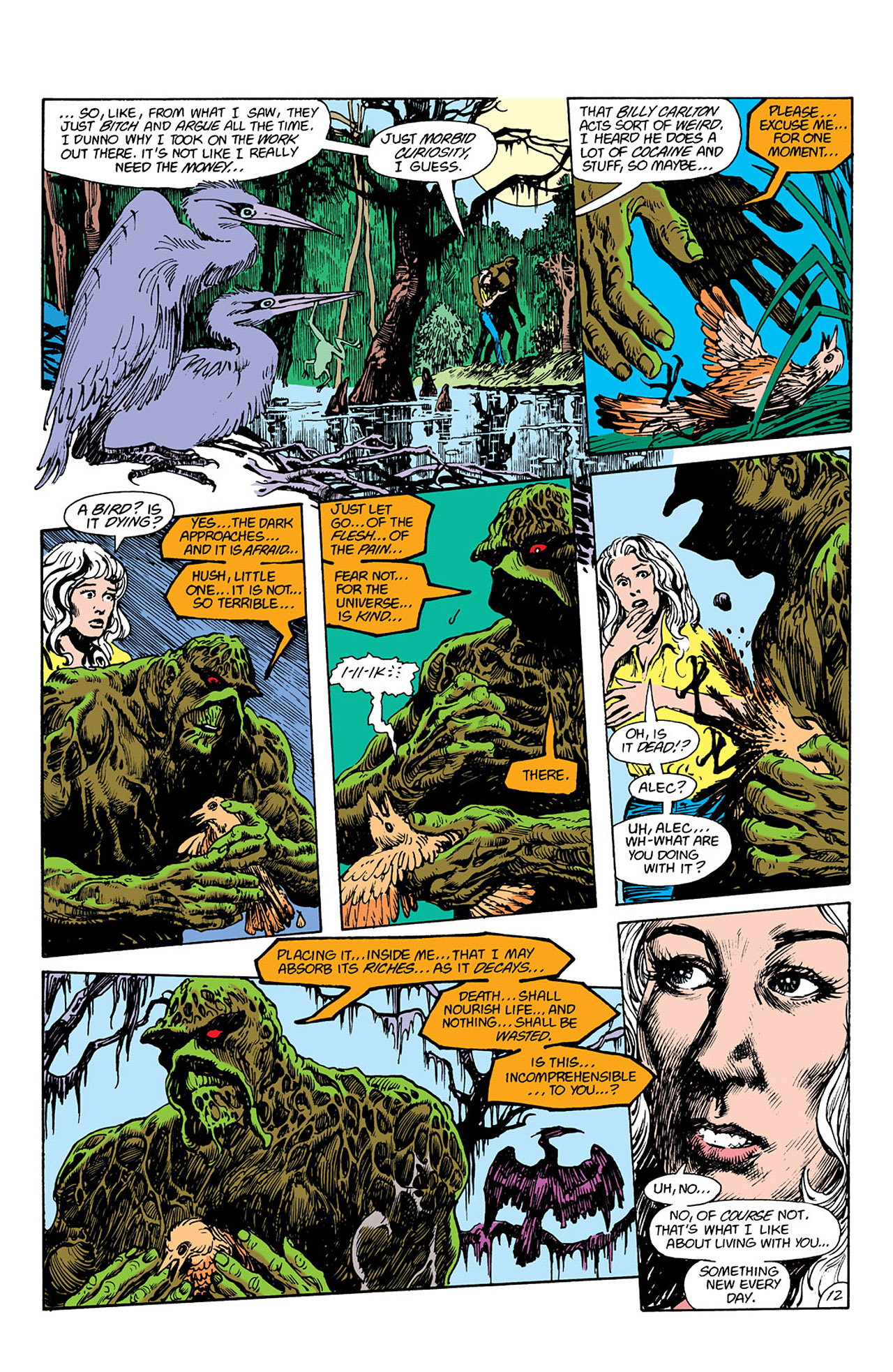 Swamp Thing (1982) Issue #41 #49 - English 12