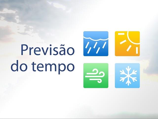 Pevisão do tempo- BRASIL para esta sexta-feira, 13/7