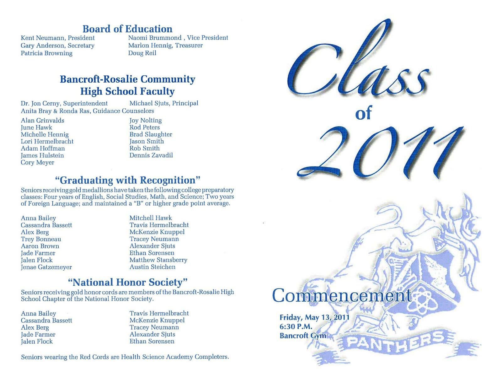 Dr. Cerny's B-R Hype: Graduation Tonight