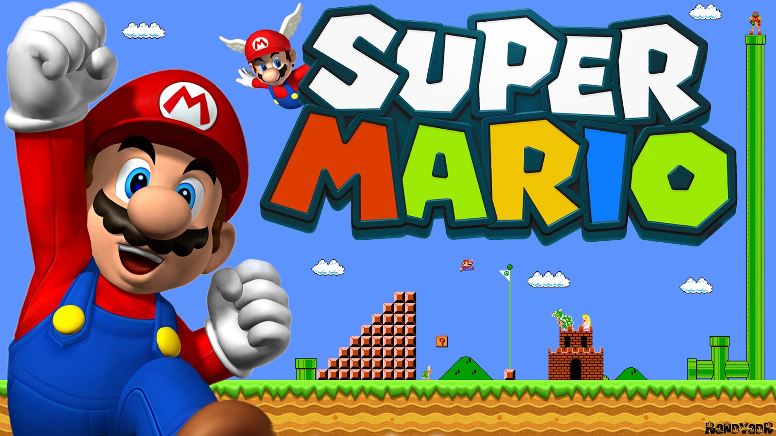 Android Project - SuperMario with Source Code - Crazy Cerebro