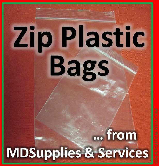 Zipper bags from MDSupplies & Services review as used in Operation Christmas Child shoeboxes.