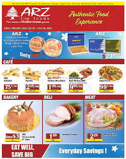 Arz Fine Foods Flyer April 27 - May 03, 2018