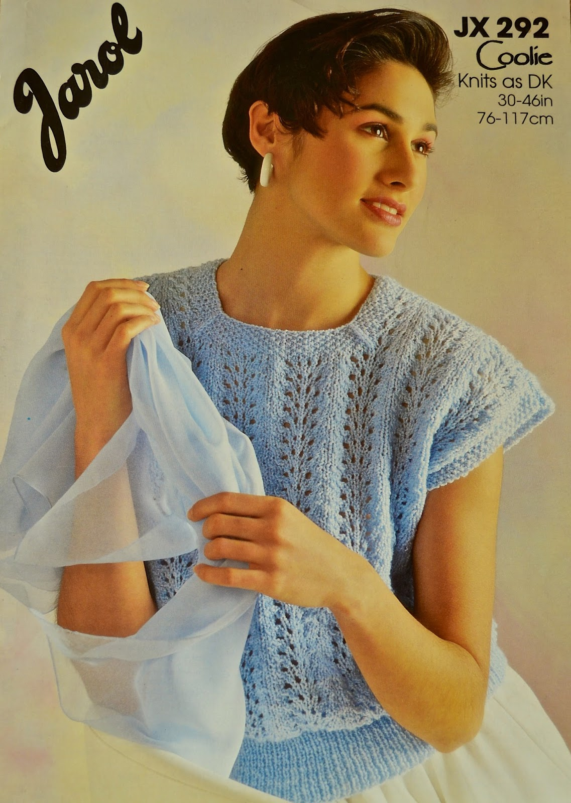 Knitting Novice Vintage 80s Knitting Patterns Part 3
