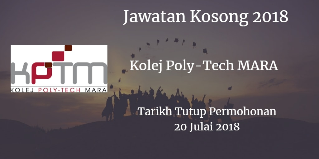 Jawatan Kosong KPTM 20 Julai 2018