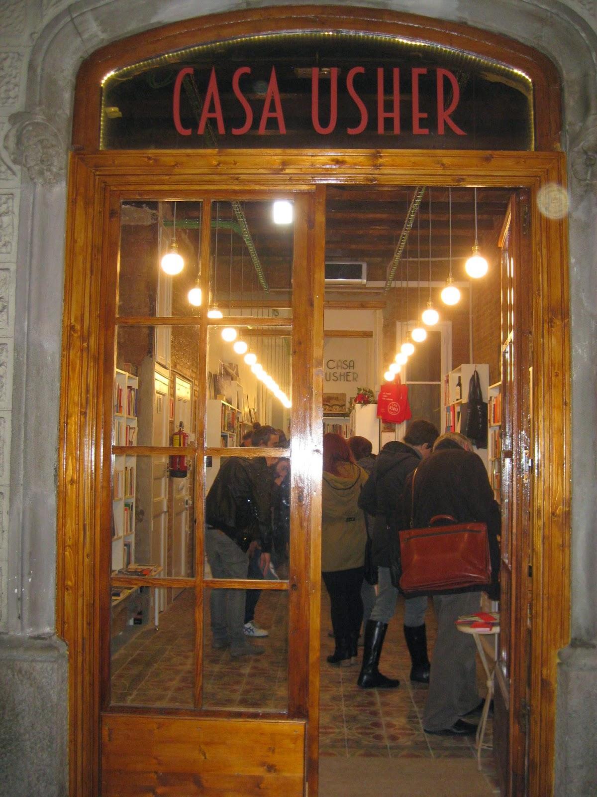 Biblioteca Marta Mata de lescola Orlandai Inauguraci de la llibreria Casa Usher
